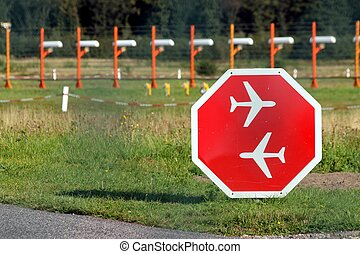 air traffic sign