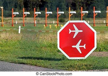 air traffic sign