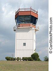 Air traffic tower - Air traffic control tower
