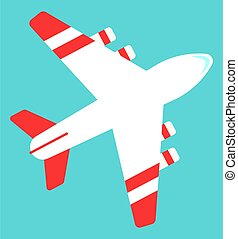 Air Transport, International Tech, Plane Vector