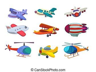 Air transportation set