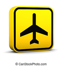Air Transportation Sign