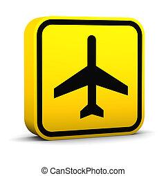 Air Transportation Sign