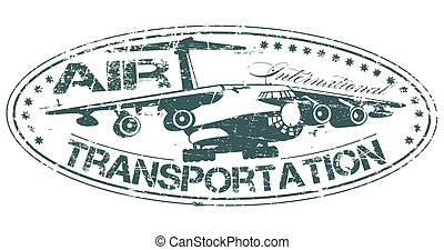 Air transportation stamp