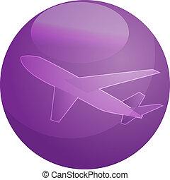 Air travel airplane illustration - Illustration of an ...
