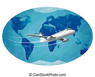 air travel around the world
