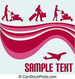 Air Travel Flyer