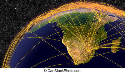 Air travel in South Africa