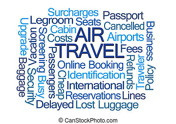 Air Travel Word Cloud