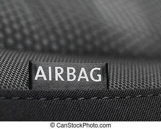 airbag, etikett