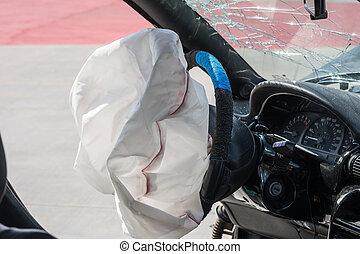 airbag, spräng