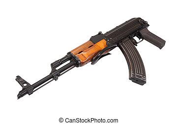 airborn, ak47, 襲撃, バージョン, ライフル銃, 白