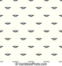 Airborne pattern seamless vector