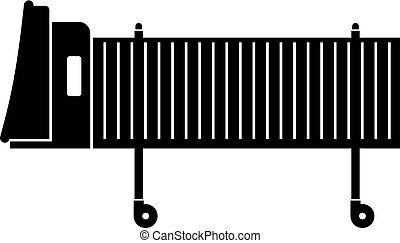 airbridge, jato, ícone