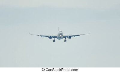 Airbus 330 landing