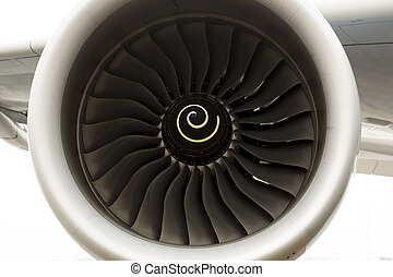 Airbus A380 airplane engine