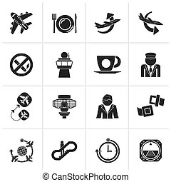 Aircraft and airport Icons