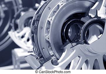 aircraft brakes - aircraft wheel and brake assembly cross...