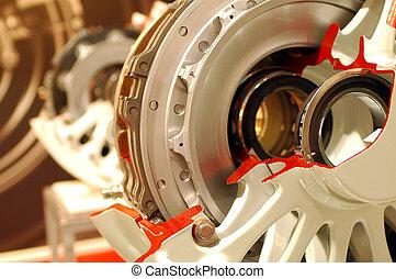 aircraft brakes - aircraft wheel and brake assembly...