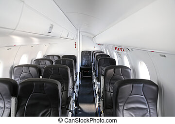 Aircraft cabin of an Airplane