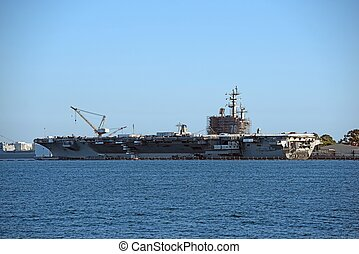 Aircraft Carrier Building - New Aircraft Carrier Building in...