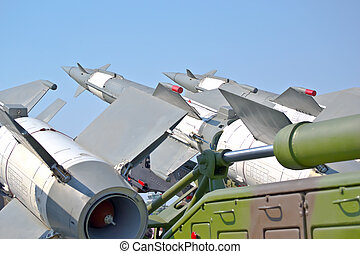 aircraft combat missiles aimed