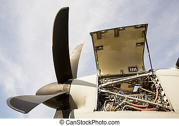 Aircraft engine turbine maintenance