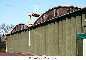 Aircraft Hanger - WW2 RAF Aircraft Hanger / Industrial...