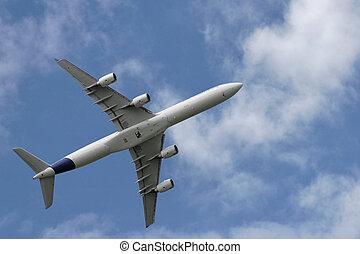 Aircraft take off