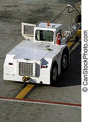 Aircraft Tow Truck
