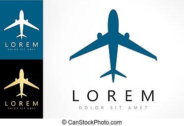 aircraft vector logo