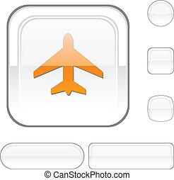 Aircraft white button.