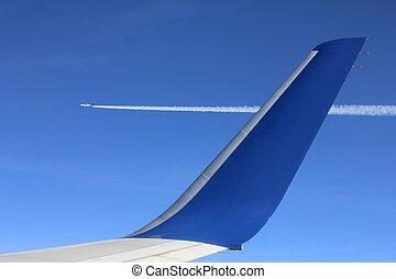 aircraft wingview