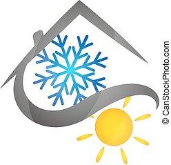 aire acondicionado, casas