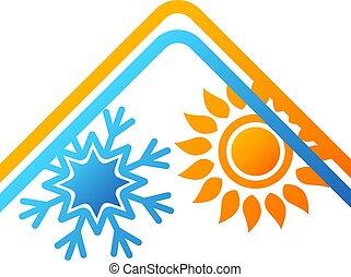 aire acondicionado, hogar, diseño
