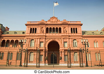 aires, casa, argentina, buenos, rosada
