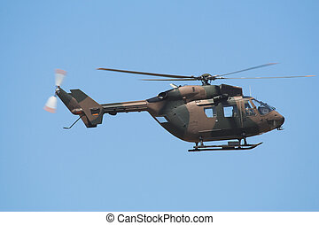 Airforce Helicopter - Side profile of an Airforce BK...