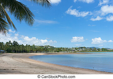 Airlie beach on sunny day. Queensland, Australia - Airlie...