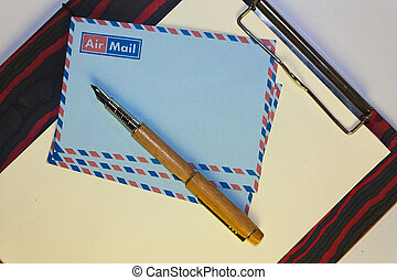 airmail post