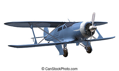 airplane 3D isolated