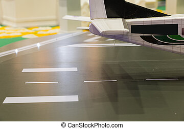 airplane aircraft miniature model