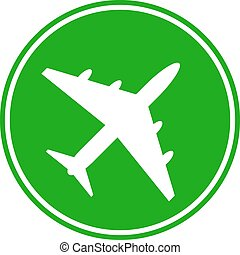 Airplane button