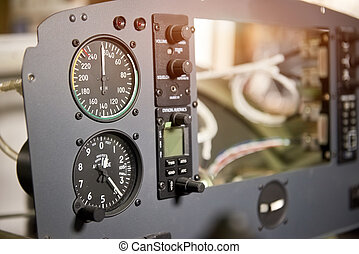 Airplane dashboard macro.