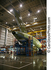 Airplane Fuselage in Production - Inside Aerospace ...