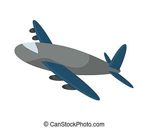 airplane icon. delivery design. vector graphic
