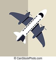 Airplane icon design