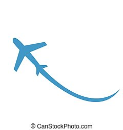 airplane Icon Vector illustration