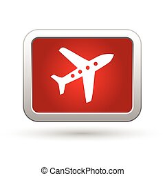 Airplane icon. Vector