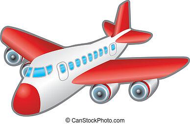 Airplane Illustration - Children?s illustration of a jumbo...
