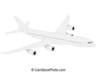 airplane illustration